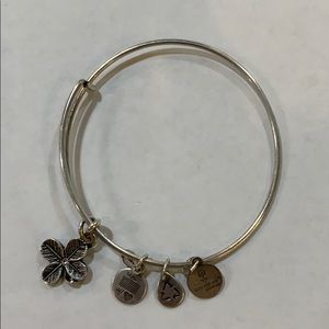 Alex and Ani Flower Bracelet